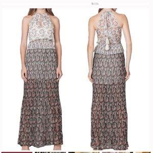 REVOLVE Foxiedox Antonia Alter pleated maxi Dress